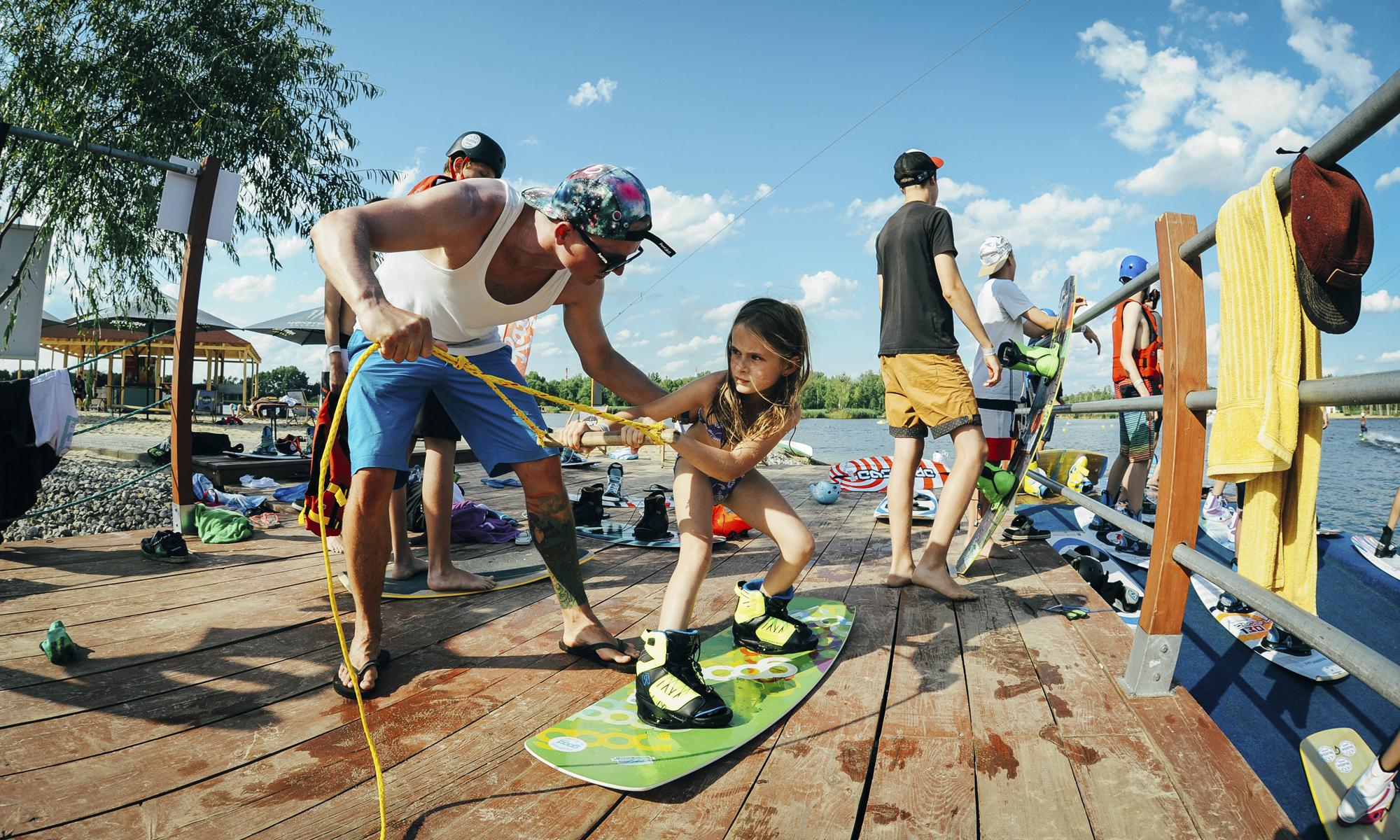 Zapisz się na obóz wakeboardowy